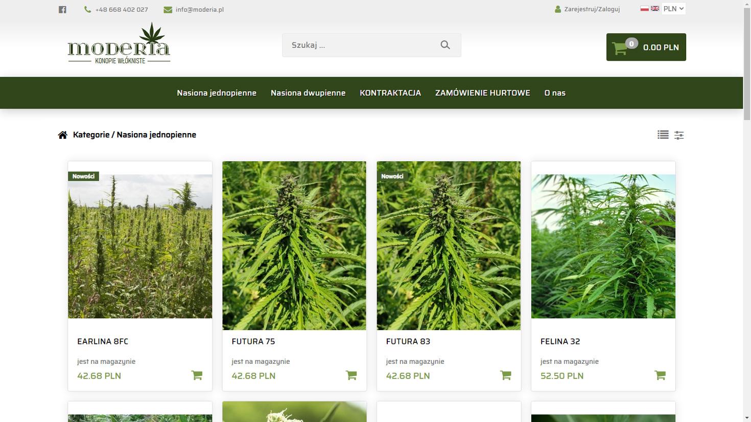 Realizacja www.moderia.pl