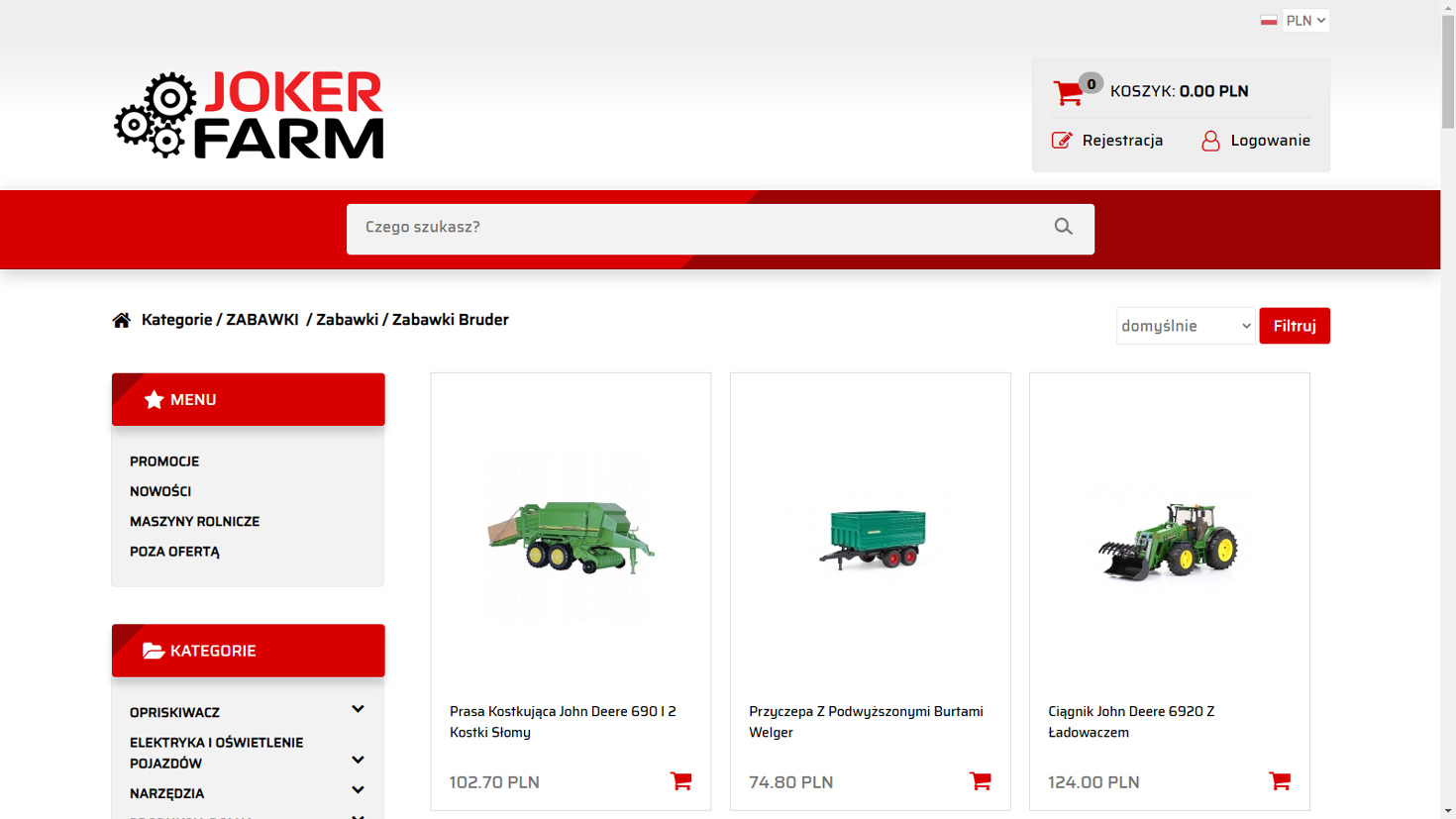 Realizacja www.joker-farm.pl